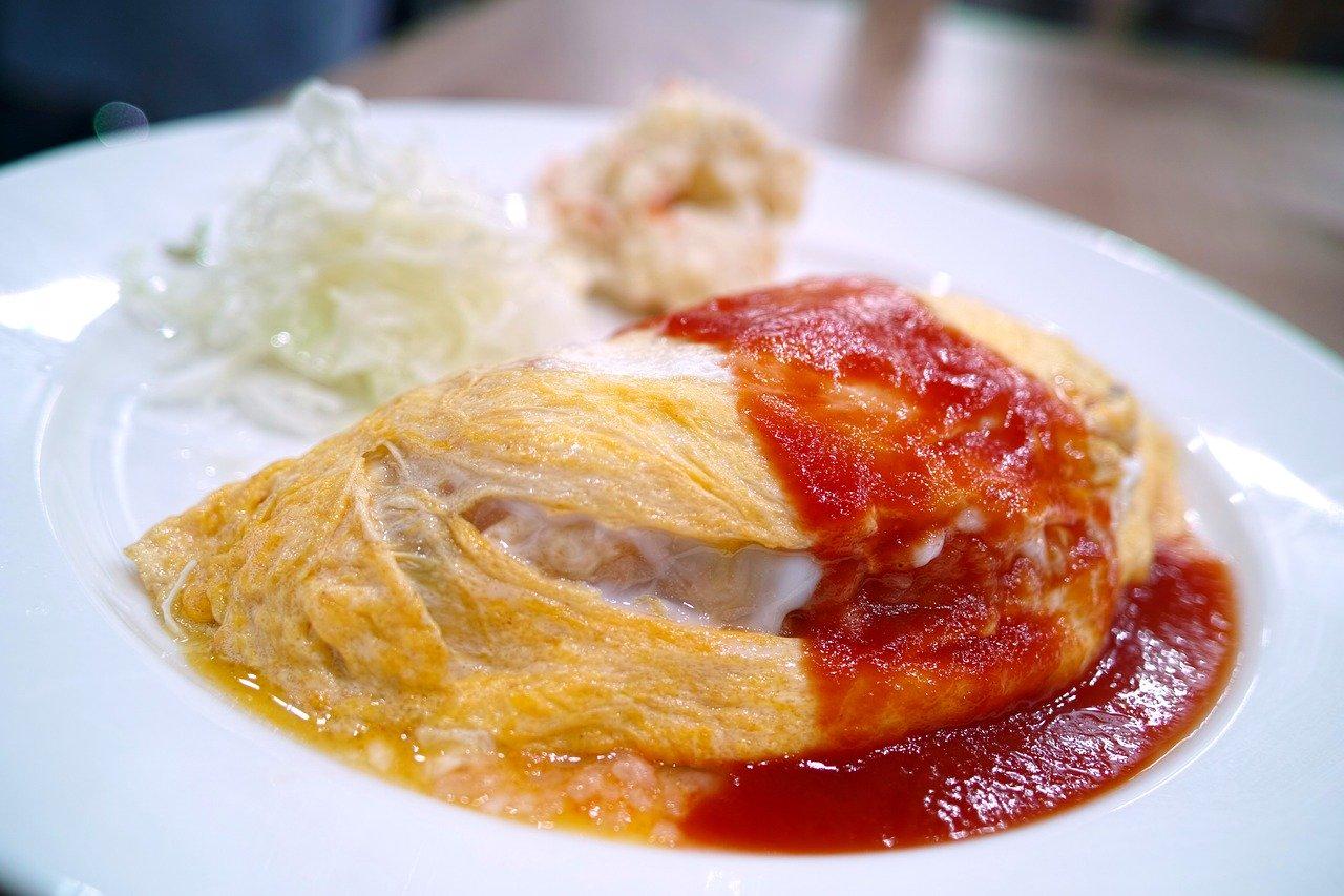 オムライスの作り方を英語で簡単に紹介してみよう!How to cook an omelet rice.