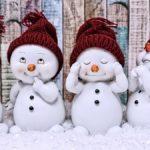 折り紙【帽子付き雪だるま】の簡単な折り方|マフラーを付けて可愛くアレンジ!