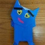 【節分の飾り】折り紙で「鬼の全身」を簡単に作る折り方!刀も持たせてオニらしく?